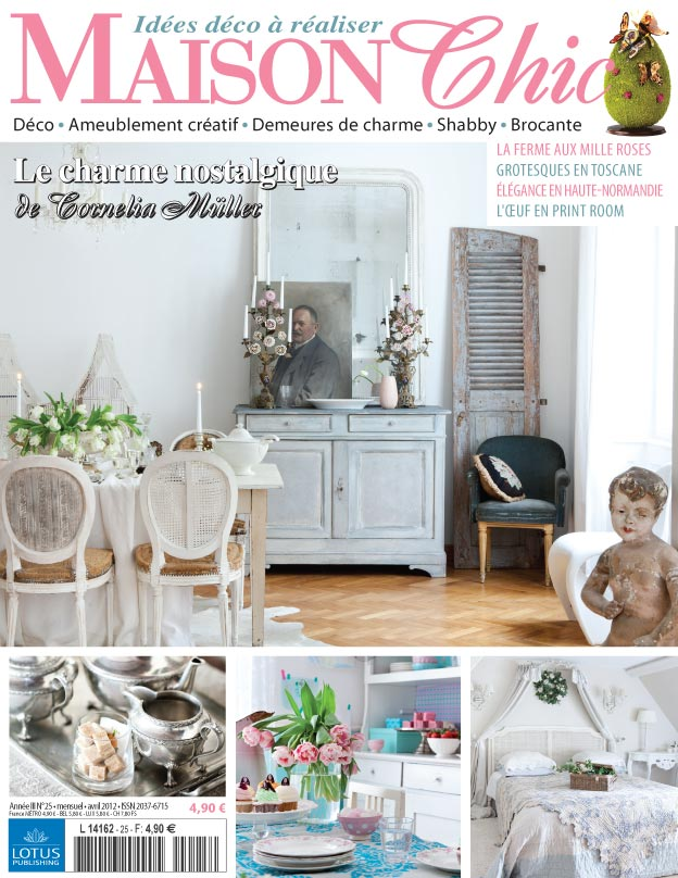Magazine maison chic fabulous here is a selection of for Abonnement magazine maison chic